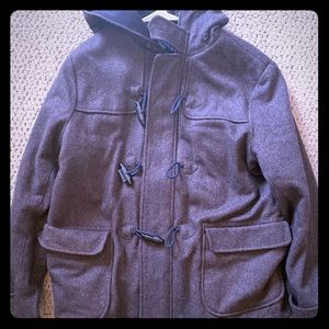 Gap hooded pea coat